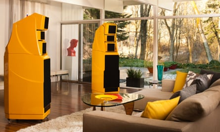 Perfect pitch: Wilson speakers, £200,000.