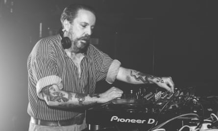 Audacious and brilliant … Andrew Weatherall playing in 2016.