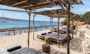 Krabo, the Margi Hotel's new beach bar, Athens, Greece