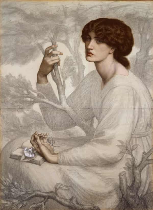 The Day Dream, 1880 by Dante Gabriel Rossetti.