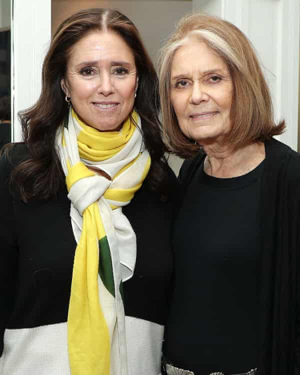 Julie Taymor, left, and Gloria Steinem