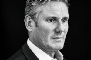 Labour Party leader Sir Keir Starmer, photographed in Camden, London, for an interview in the Observer.