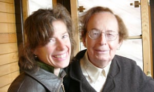 Susan Faludi and her father in Budapest, 2010.