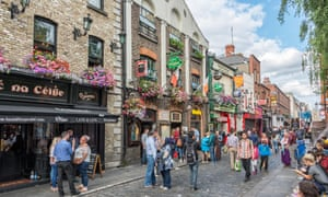 pubs and bars in the Temple Bar area, Dublin