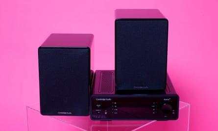 Crisp and dynamic: Cambridge Audio's Minx system.
