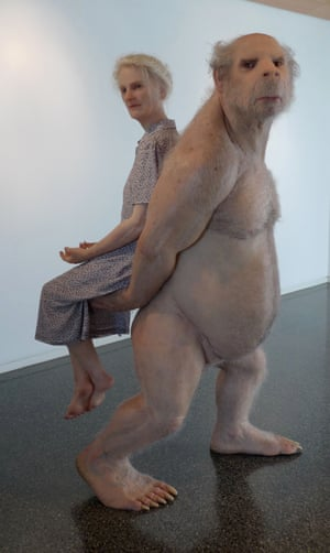 The Carrier, by Patricia Piccinini