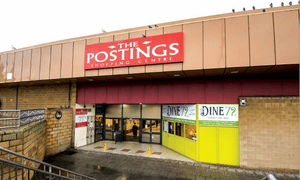 The Postings shopping centre in Kirkcaldy