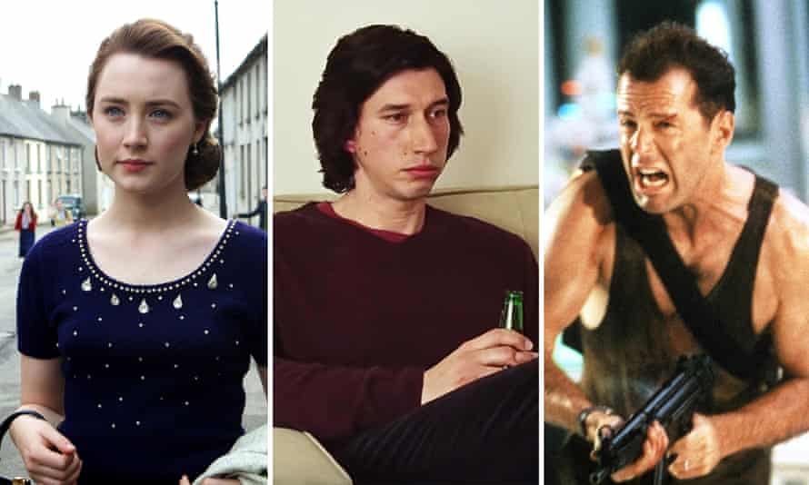 (From left) Saoirse Ronan, Adam Driver and Bruce Willis