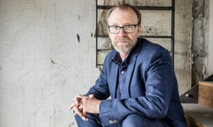 """""""George Saunders. Author. George Saunders won the 2017 Man Booker Prize for his book 'Lincoln in the Bardo'. London.Photograph by David Levene 18/10/17"""""""