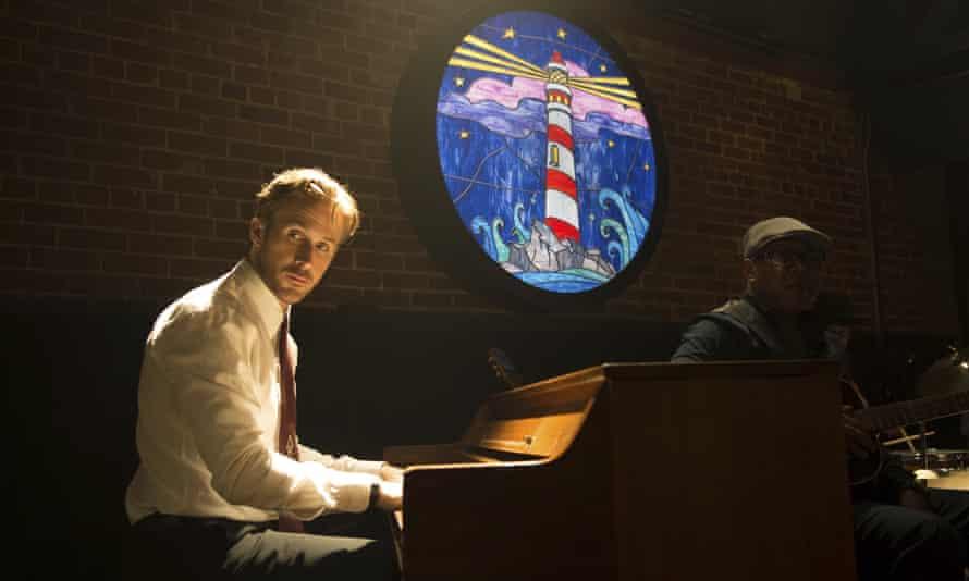 Gosling plays pianon in La La Land