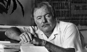 Ernest Hemingway In 1952