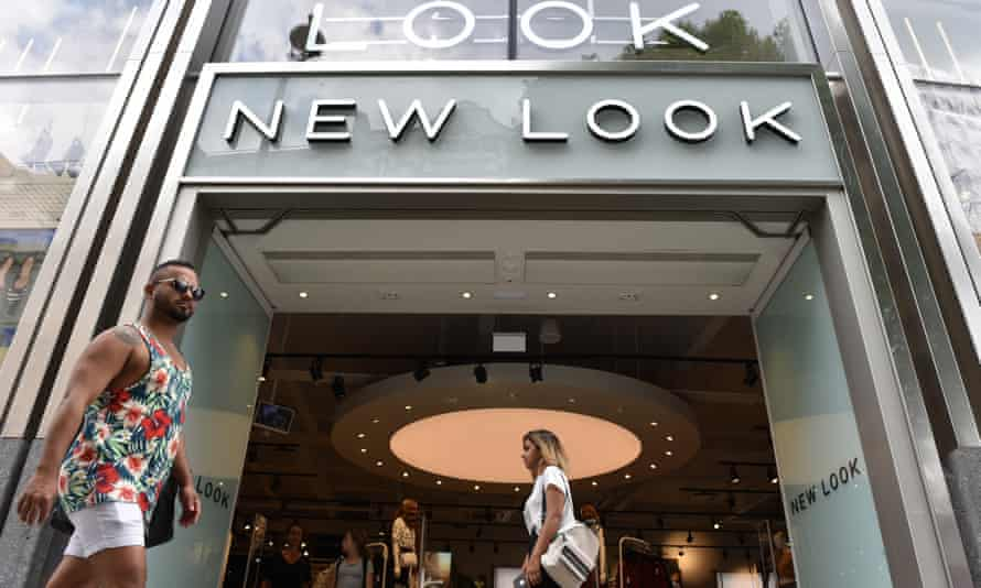 A New Look store on Oxford Street, central London