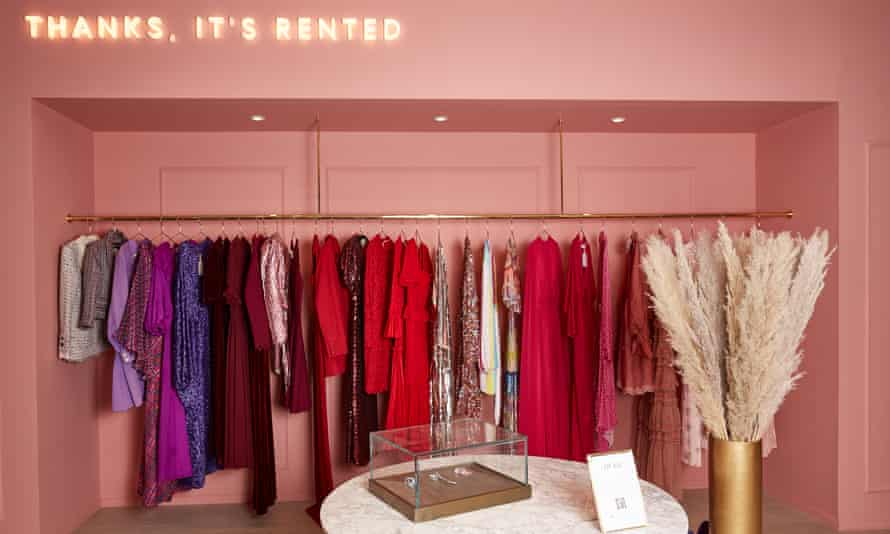 Recognising the value of rental: earlier this year, Selfridges collaborated with rental platform Hurr to launch a lending service.