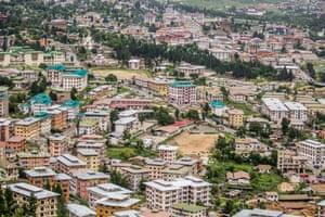 Bhutan's capital city, Thimphu