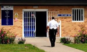 Morton Hall immigration removal centre, Lincolnshire.