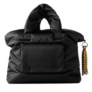 Black puffer, £49.99, zara.com