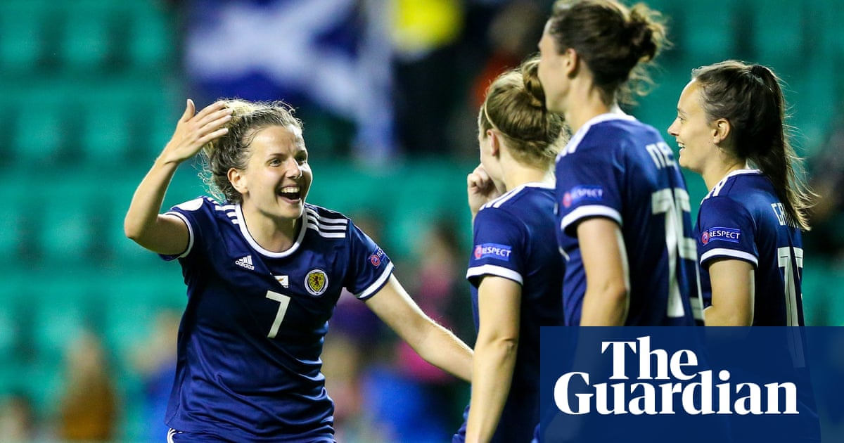 Shelley Kerr aiming to guide Scotland to Euro 2022 from the sofa