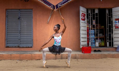 Lagos Leap: inside a ballet school in Nigeria's suburbs - in pictures