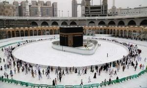 The Grand Mosque in Mecca