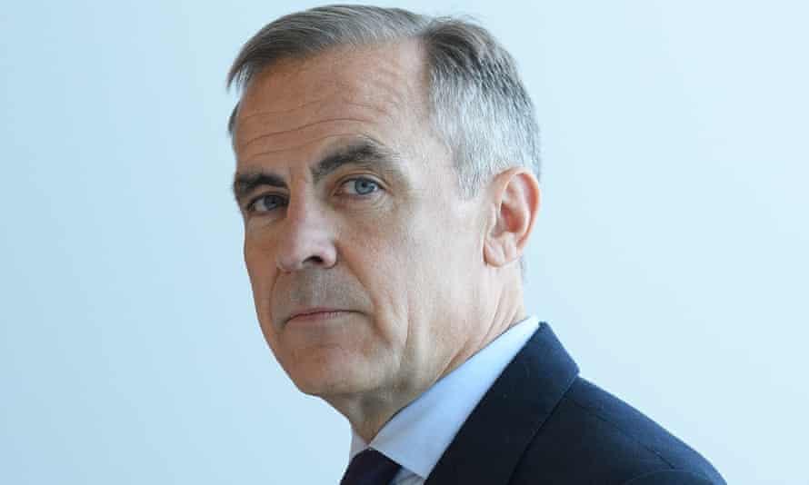 Mark Carney, Bank of England governor.