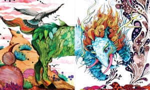 Animal magic … Myth Match: A Fantastical Flipbook of Imaginary Beasts by creative partnership Good Wives and Warriors.