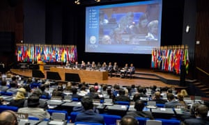 Delegates at the OPCW conference in The Hague