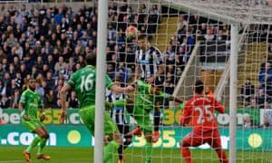 Newcastle's Aleksandar Mitrovic