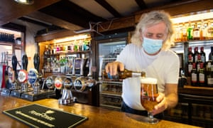 Phil Weaver, owner of The Old Smith pub in Church Lawford, Warwickshire