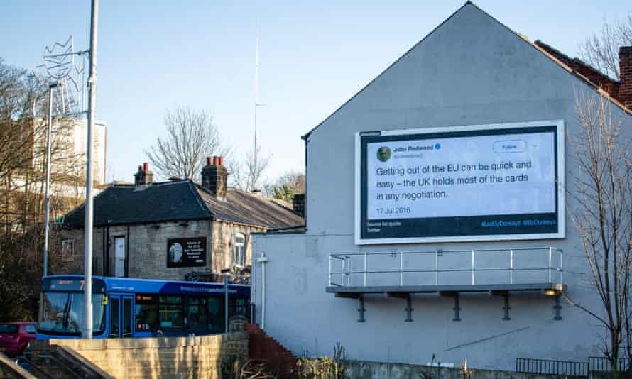 John Redwood's tweet, Leeds.