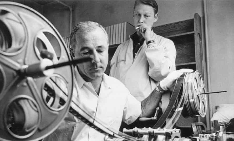 Mike Nichols with film editor Sam O'Steen