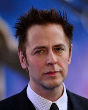 James Gunn was sacked after offensive tweets resurfaced.