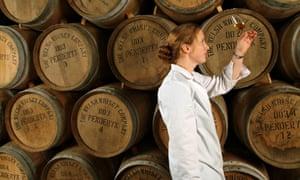Gillian Macdonald at the Penderyn distillery in 2003 before her move to Glenmorangie.