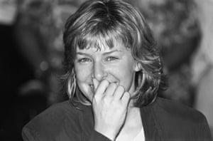 Jill Morrell, 8 August 1991. (Archive ref. GUA/6/9/2/1).