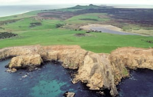 Southwest of Cape Young, Chatham Islands, New Zealand.