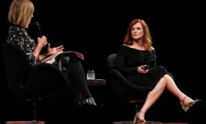 Julia Baird and Maureen Dowd speaking at Antidote at Sydney Opera House on 2 September