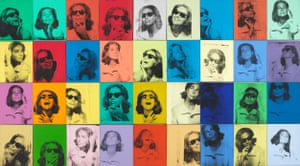 Ethel Scull 36 Times, 1963 by Andy Warhol.