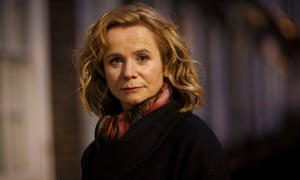 Emily Watson as Yvonne Carmichael in the BBC drama Apple Tree Yard.
