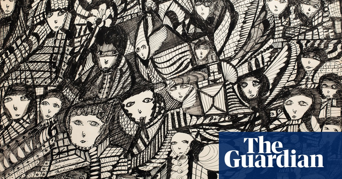 Madge Gill's untitled work: a kaleidoscopic inner world