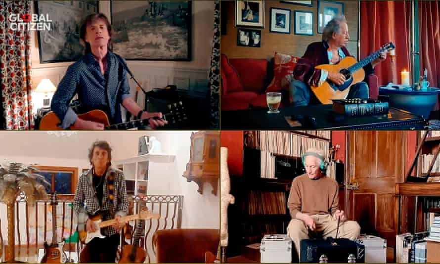 Rolling Stones on Global Citizen