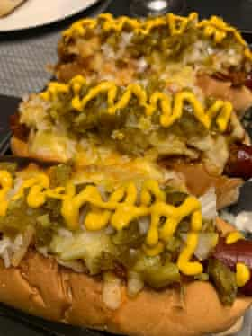 Meatliqour's hot dog at home – as made by Grace