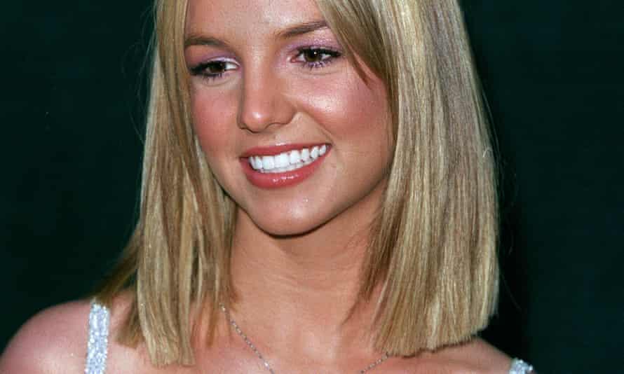 'Like any inexperienced reveller, she slipped' ... Britney Spears in 1999.
