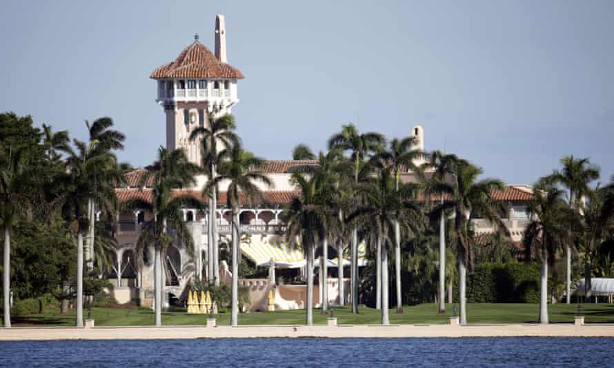 Mar-a-Lago resort owned by Donald Trump in Palm Beach, Florida.