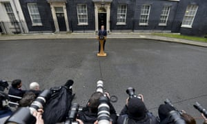 Prime Minister David Cameron announces the June 23 date of Britain's referendum on EU membership.