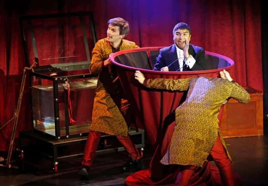Mr Swallow: Houdini.