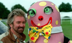 'It takes a special kind of pillock to do that' ... Noel Edmonds, left, with Mr Blobby of Noel's House Party. Photograph: Sportsphoto Ltd/Allstar