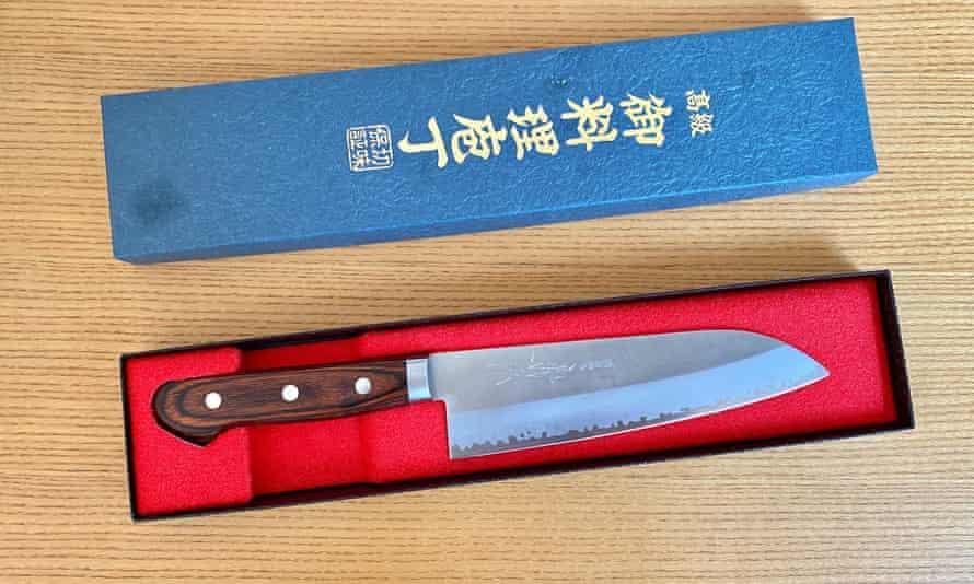 Ronni Kahn's kitchen knife