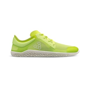 Vivobarefoot uses natural, recycled, and bio-based materials, and focuses on using an efficient process to make products that last. The Primus Lite Bio is made using plant-based fibres.  Primus lite bio, £120, vivobarefoot.com