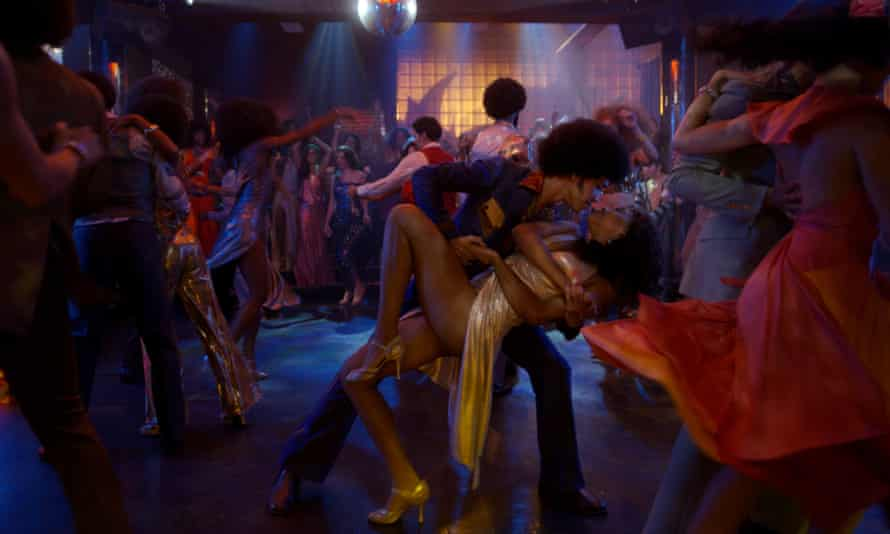 A club scene from Baz Luhrmann's The Get Down