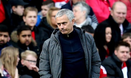 Manchester United's José Mourinho refuses to discuss Middlesbrough spat