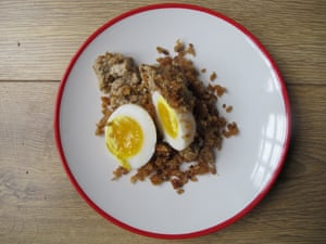 Deri Reed's vegetarian scotch eggs.